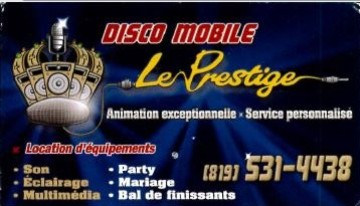 Disco mobile Le Prestige